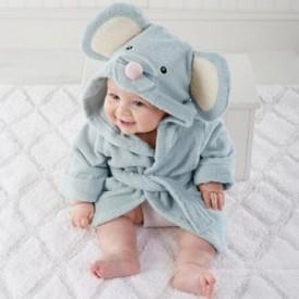 Выбираем ребенку халат на море.
