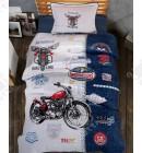 Комплект постельного 160*220 ренфорс Clasy Bike Classic