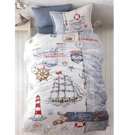 Комплект постельного 160*220 ренфорс Clasy Sailing