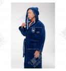 Халат мужской махровый хлопок Leonor Maison D'or синий