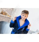 Халат подростковый Sport голубой Aldona