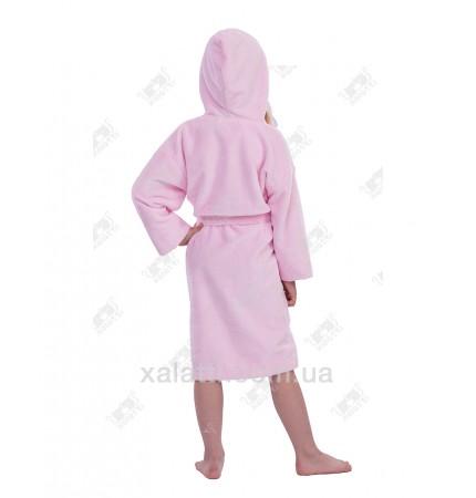 """Халат детский махровый """"Принцесса"""" бамбук Piramyt розовый"""