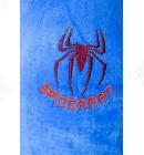 Халат подростковый махровый Spidermen голубой Piramyt