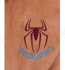Халат детский махровый Spidermen кофе Piramyt