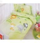 Детский комплект для новорожденного ТАС зеленый