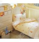 Детский комплект для новорожденного ТАС желтый