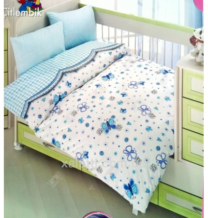 Детский комплект для малыша Altinbasak голубой
