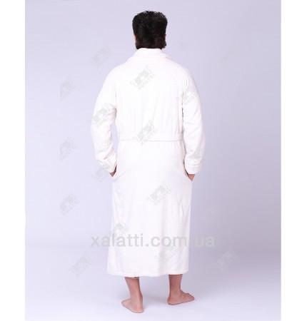 Халат мужской махровый бамбук Mevsim Ekehome крем