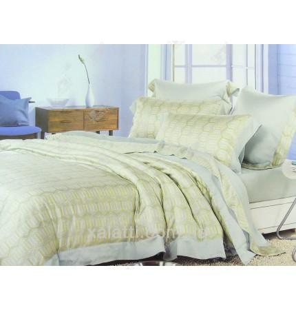 """Комплект постельного белья евро бамбук """"Гармоника"""""""