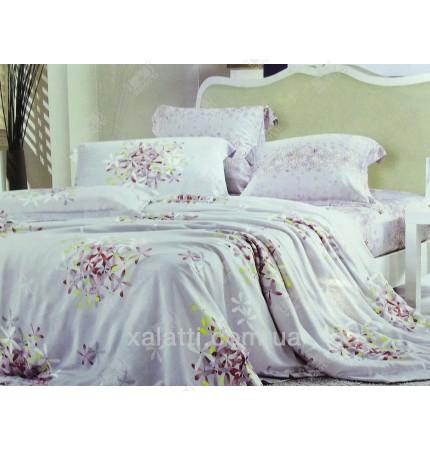 """Комплект постельного белья евро бамбук """"Сиреневая метель"""""""