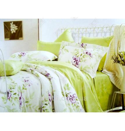 """Комплект постельного белья евро бамбук """"Весенняя нежность"""""""