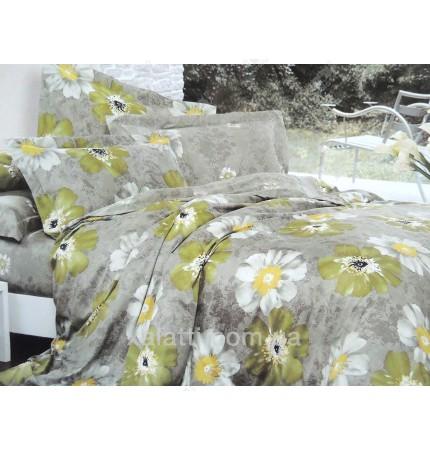 """Комплект постельного белья евро бамбук """"Летний дождь"""""""