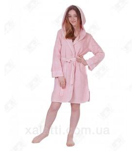 Халат женский махровый Vassago Maison D'or розовый