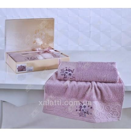 Набор полотенец махровых Viola Karna сирень