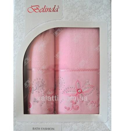 Набор полотенец махровый хлопок Belinda сиреневый