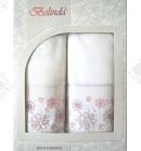Набор полотенец махровый хлопок Belinda розовый
