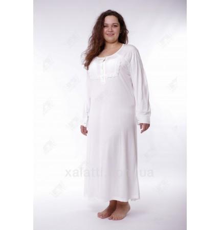 Женская ночная сорочка трикотажная Artis к.1632 крем