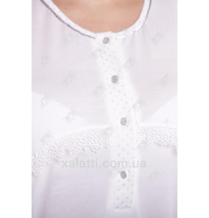 Женская ночная сорочка трикотажная Artis к.1947 крем