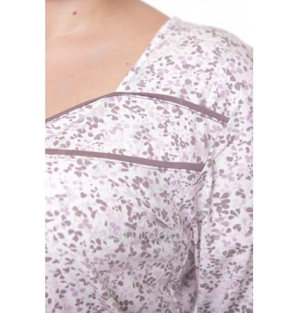 Женская трикотажная сорочка 52-56 Carolina