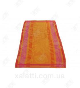 Полотенце пляжное 70*150 хлопок Ozdilek оранжевое