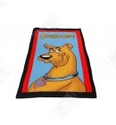 Детское махровое полотенце 75*150 хлопок Scooby-Doo