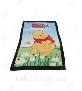 Детское махровое полотенце 75*150 хлопок Винни Пух 1