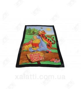 Детское махровое полотенце 75*150 хлопок Винни Пух 2