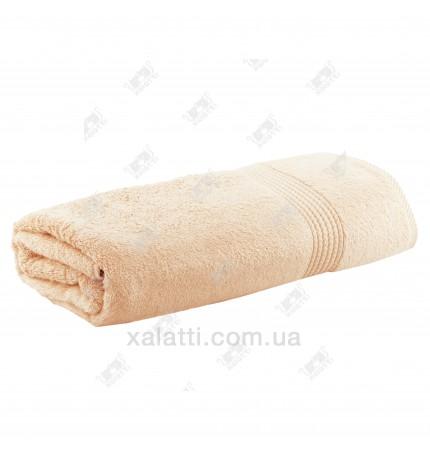 Полотенце махровое бамбук 85*150 Amadeus Maison D'or бежевое