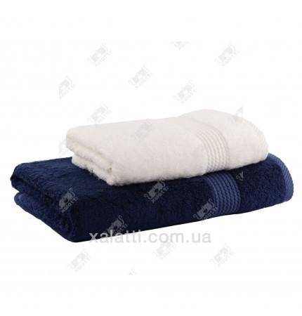 Махровое полотенце 85*150 бамбук Amadeus Maison D'or синее