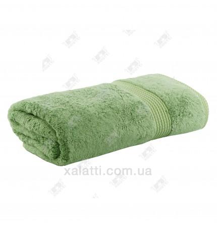 Полотенце махровое бамбук 85*150 Amadeus Maison D'or зеленое