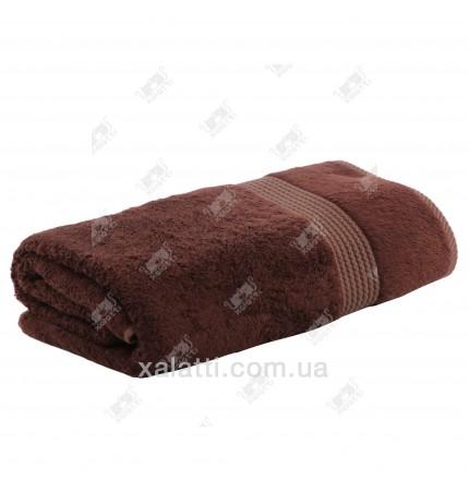 Полотенце махровое бамбук 85*150 Amadeus Maison D'or коричневое