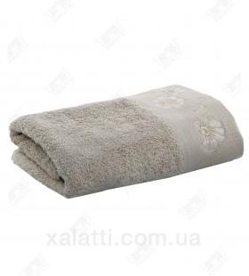 Полотенце махровое 50*100 хлопок Acelya Eke flax