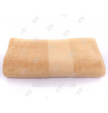 Полотенце махровое 50*100 бамбук Mevsim Eke orange