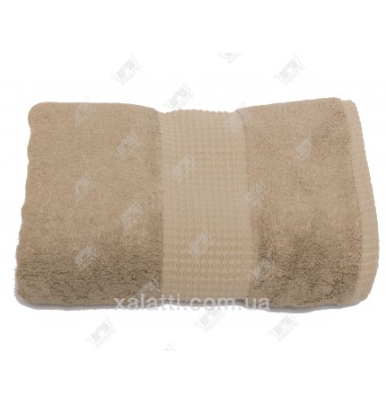 Полотенце махровое 50*100 бамбук Mevsim Eke sandy