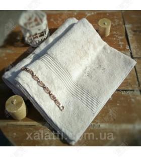 Полотенце махровое бамбук 50*100 Amadeus Maison D'or белое