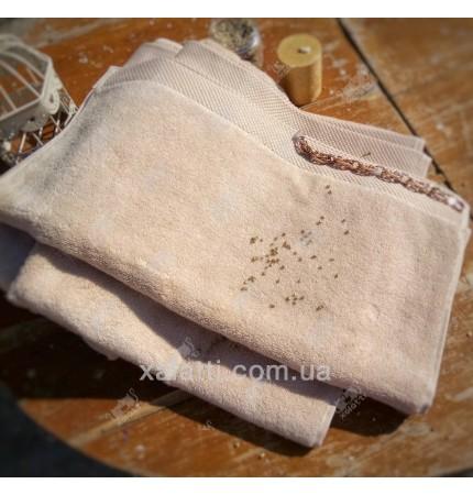 Полотенце махровое микрокотон 85*150 Artemis Maison D'or песочное