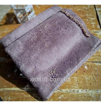 Полотенце махровое микрокотон 85*150 Artemis Maison D'or серое