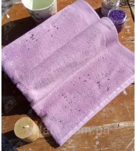 Полотенце махровое 50*100 микрокотон Artemis Maison D'or сирень