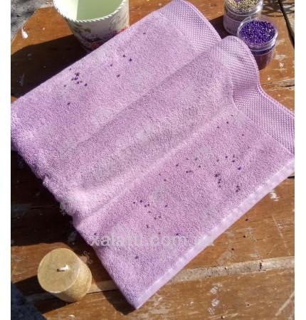 полотенце махровое микрокотон 80*150 Artemis Maison D'or сиреневое