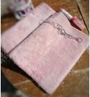 Полотенце махровое 50*100 микрокотон Artemis Maison D'or розовое