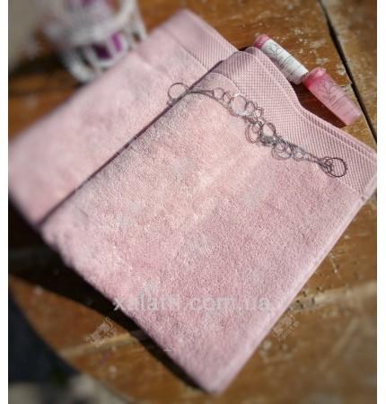 Полотенце махровое микрокотон 85*150 Artemis Maison D'or розовое