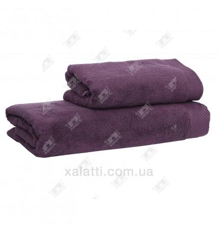 Полотенце махровое микрокотон 85*150 Artemis Maison D'or фиолетовое