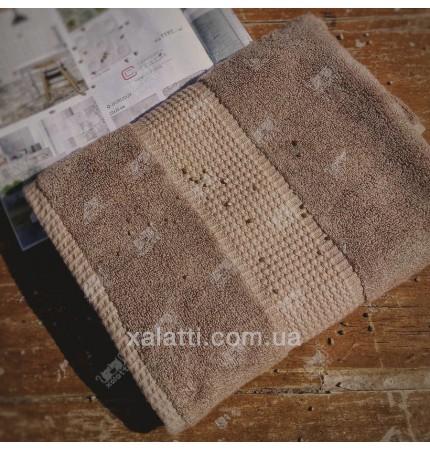 Полотенце махровое 70*140 бамбук Mevsim Eke turkishcoffee