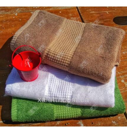 Полотенце махровое 50*100 бамбук Mevsim Eke emerald
