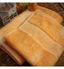 Полотенце махровое 70*140 бамбук Mevsim Eke orange