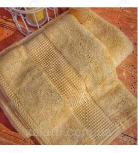 Полотенце махровое 50*100 бамбук Mevsim Eke lemon
