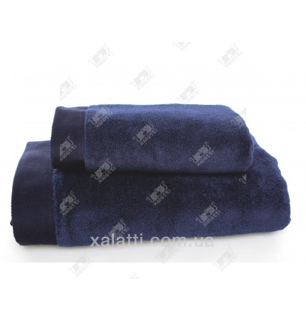 Полотенце махровое микрокотон 50*100 Micro Softcotton синее
