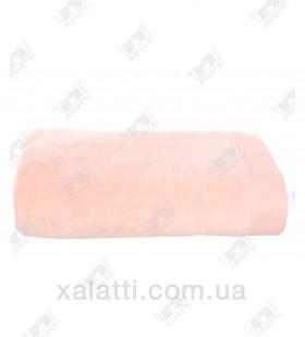 Полотенце махровое микрокотон 85*150 Micro Softcotton персиковое