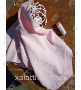 Полотенце махровое микрокотон 85*150 Micro Softcotton розовое