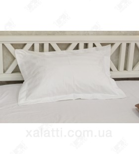 Наволочка 50*70 стрип-сатин (2 шт.)  белая